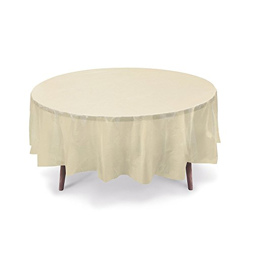 Cover Ivory Round Table (10 Pack 84