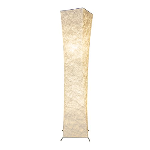 Floor Lamp Shade Saleting Modern Design Fabric LED Floor Lamps for Living Room - 52 inch Tall Lamp