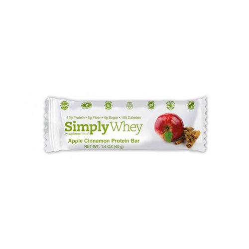 Simply Whey Bar- Apple Cinnamon 40 Grams (Case of 12)