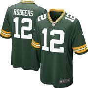 Aaron Rodgers Green Bay Packers Green Nike Jersey Size, used for sale  Delivered anywhere in USA