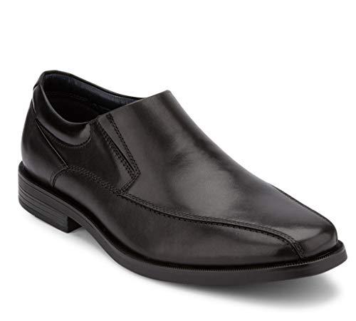 Dockers Mens Franchise 2.0 Leather Dress Oxford Shoe, Black, 10 W