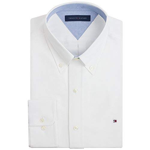 Tommy Hilfiger Slim Fit Heritage Oxford Dress Shirt 15 - Hilfiger Shirt Tommy Oxford