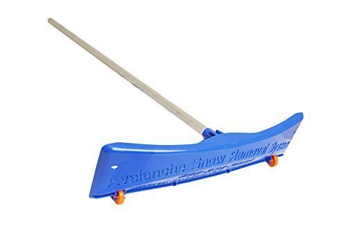 AVALANCHE! SRD20 Snow Rake Deluxe 20 with 24-Inch Wide Rake Head 20-Feet Quick Connect Lightweight Aluminum Handle