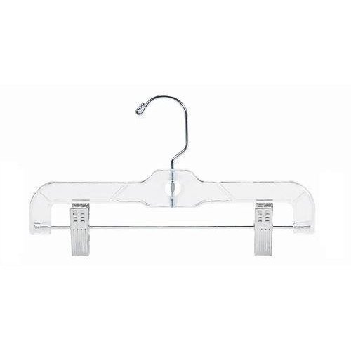 Only Hangers Only Children's Plastic Pant/Skirt Hanger-10 (25), Clear