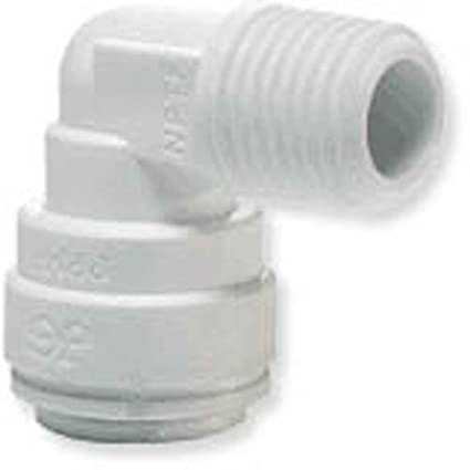 1//4 OD Union Elbow CUIWEI 1//4 OD Quick Connect Push in to Connect Water Tube Fitting