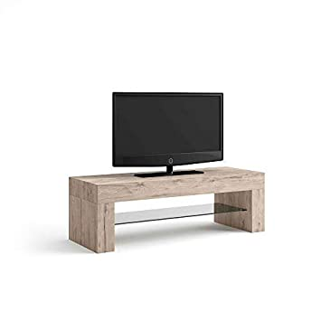 Tavolino X Tv.Mobili Fiver Evo Mobile Tv Stand Wood Oak 112 X 40 X 36