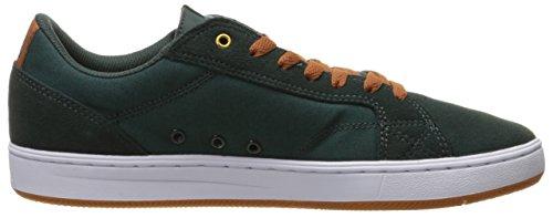 DC Astor, Scarpe da Skateboard uomo multicolore Black/White Dark Green