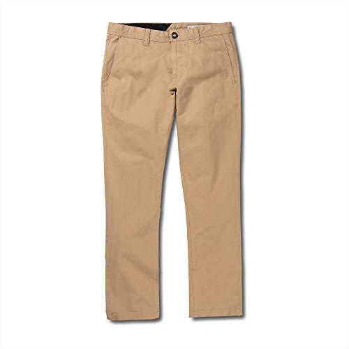 Volcom Men's Frickin Slim Chino Pant, Gravel 32