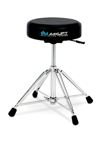 Drum Workshop CP9100AL 9000 Series Heavy Duty Air-lift Throne w/ Round Seat
