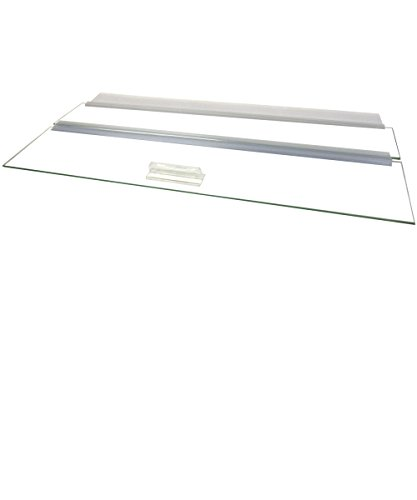 Aquarium Masters One Piece Glass Canopy Set for 21FR, 35C Gallon Aquariums by, AM32020, for 20'' Long x 20'' Wide Aquariums with No Center Brace by Aquarium Masters