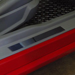 Mustang Billet Door Sills - 2