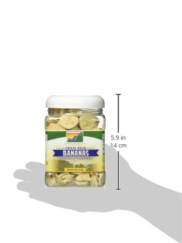 Mother Earth Products Freeze Dried Bananas, Quart Jar by Mother Earth Products (Image #4)