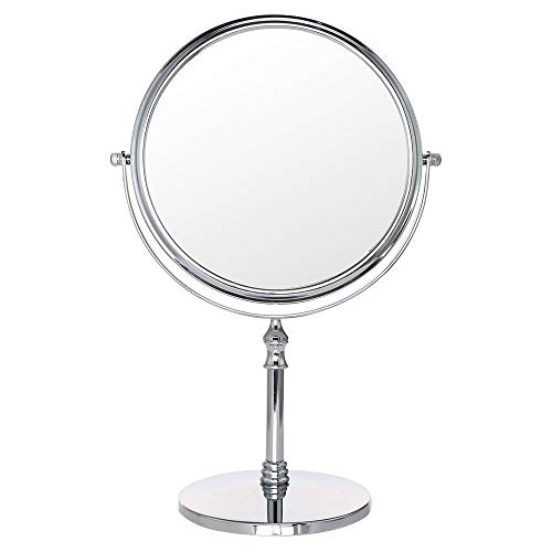 Cosprof 8-Inch Diameter 10X Magnifying Two Sided Vanity Makeup Mirror - Best -