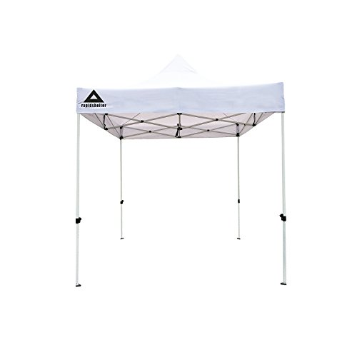 Caddis Tent - Caddis Sports Rapid Shelter Canopy, White, 10'x10'