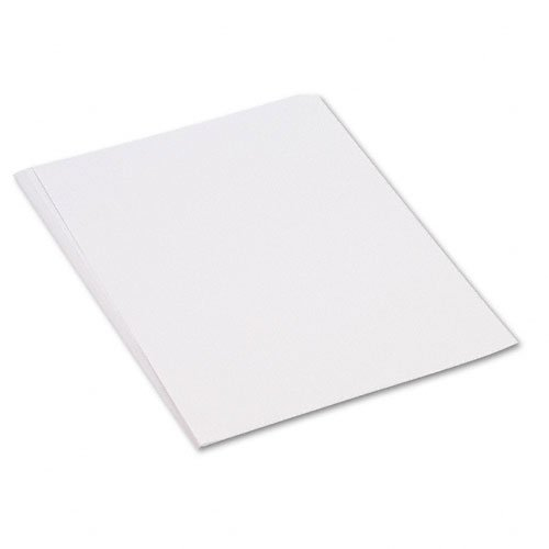 Construction Paper, 58 lbs., 18 x 24, White, 50 Sheets/Pack