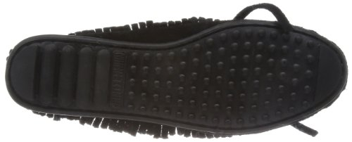 Fringed Moccasin Black Women's Minnetonka Women's Minnetonka Black Fringed Women's Fringed Minnetonka Moccasin wUqFnYUO