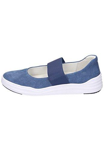 Piazza Klærtøffel Blau 8407765 Jeans