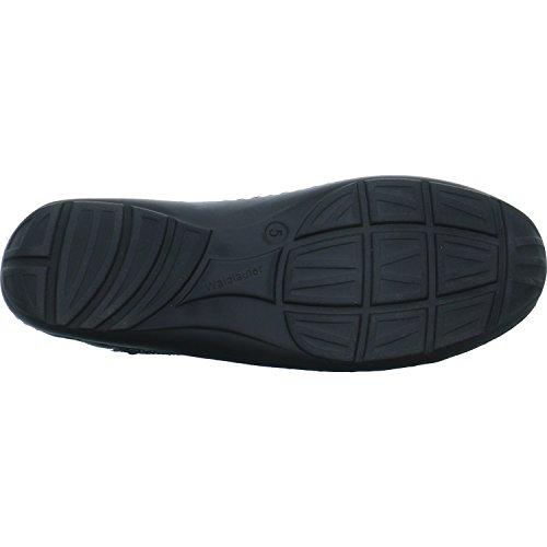 Schwarz Noir Lacets à Chaussures Pour Femme Waldläufer Notte Noir 496005621 954 de Ville qPSaHP