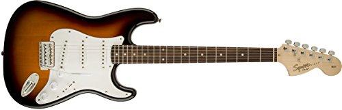 Fender Squier by Fender Affinity Series Stratocaster Electric Guitar - Laurel Fingerboard - Brown Sunburst (Sunburst Fender)