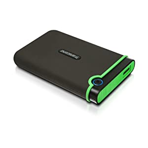 Transcend USB3.0 2.5インチ ポータブルHDD M3シリーズ 500GB 3年保証 TS500GSJ25M3