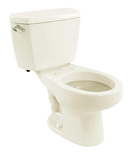 TOTO CST744ERG#01 Eco Drake Elongated Sanagloss Bowl and Tank with Rh Trip Lever, Cotton White