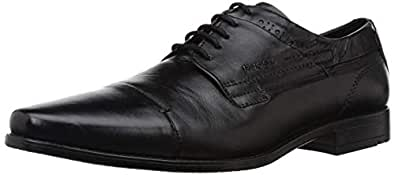 Ruosh Men's Black Leather Formal Shoes-11 UK/India (45 EU) (SS18-Nashford-01B)