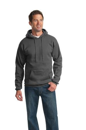 Port & Company Men's Tall Ultimate Pullover Hooded Sweatshirt XLT Charcoal from PORT AND COMPANY