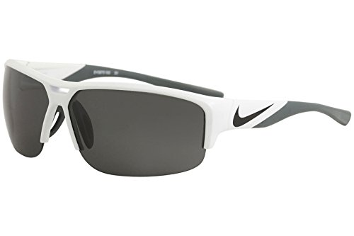 Nike Men's Golf X2 Rectangular Sunglasses, White/Black, One Size