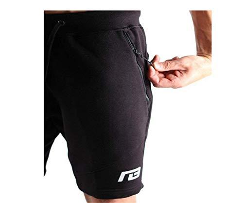 Schwarz Plage Pantalon Short Parc Léger Randonnée De Extensible D'été Chic Respirant Noir Training Sport Mode nH6wFq