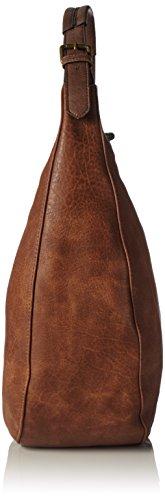 Howet Women's Bulaggi Women's Shoulder Bulaggi Bag Brown Hobo 25 Kognak RtwwxdaEqn