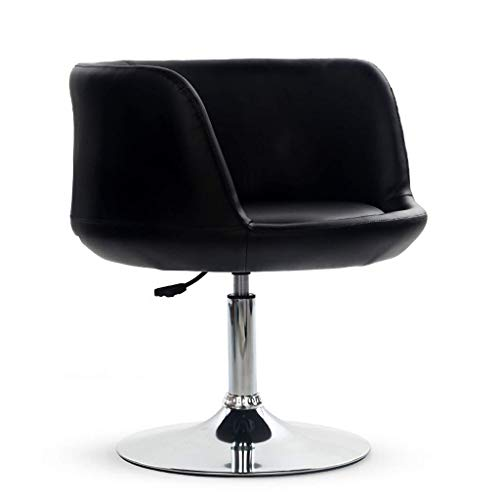 (Barstool Wine Glass Chair Home Computer Chair Seat Leisure Bar Chair Lifting Swivel Chair Living Room Kitchen Bar Chair HENGXIAO (Color : Black b))