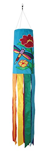 In the Breeze Dragonfly Windsock, 40-Inch (Dragonfly Whirligig)