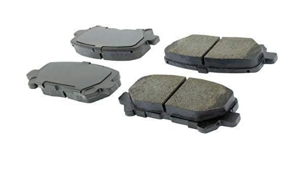Disc Brake Pad Set Rear Centric 105.14510