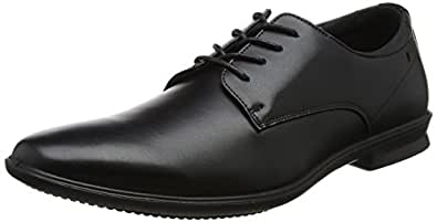 Cale Plain Toe, Zapatos de Cordones Oxford para Hombre, Negro (Black), 47 EU Hush Puppies
