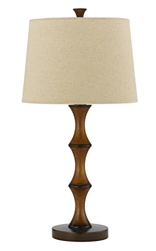 Cal Lighting BO-2039TB Resin Table Lamp, 7