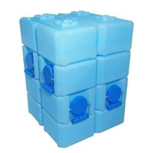WaterBrick - Emergency Water and Food Storage Containers - 8 Pack Blue  sc 1 st  Amazon.com & Long Term Water Storage: Amazon.com