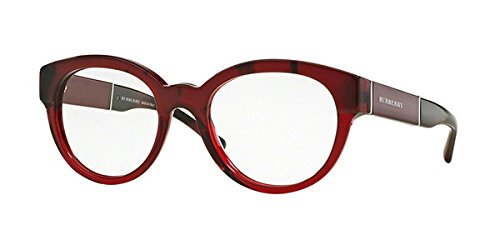 Eyeglasses Burberry BE 2209 3591 TOP RED - Burberry Red Eyeglasses