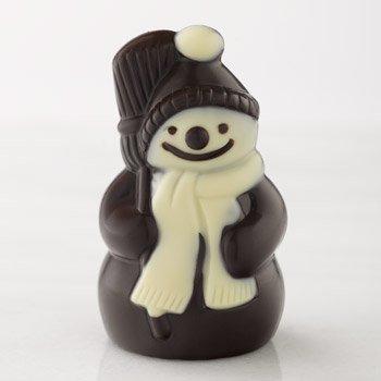 Lake Champlain Chocolates, Chocolate Dark Snowman, 4 Count -
