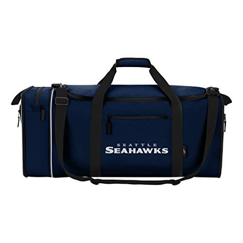 Officially Licensed NFL Seattle Seahawks Steal Duffel Bag