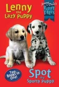 book cover of Lenny and Spot