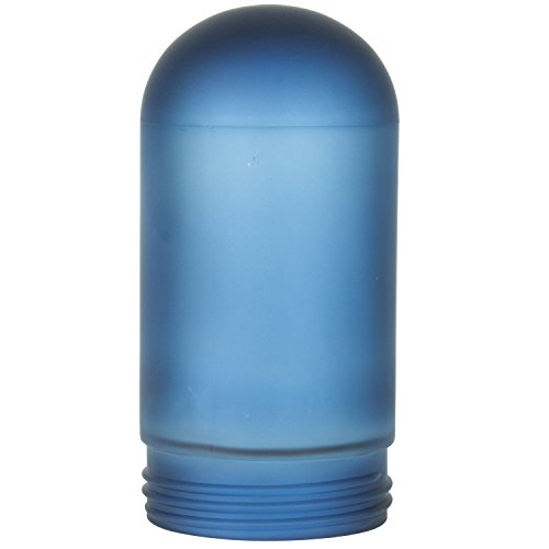 Sunlite RPG/LFX/VT/100/B Blue Frosted VT100\VTA100 Replacement Weather Tight Fixture Glass Globe Bulb (Center Glass Globe)