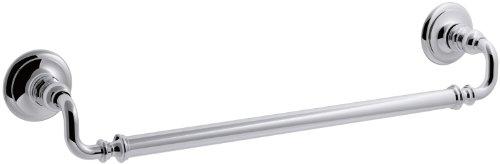 KOHLER K-72567-CP Artifacts 18 In. Towel bar, Polished Chrome by Kohler