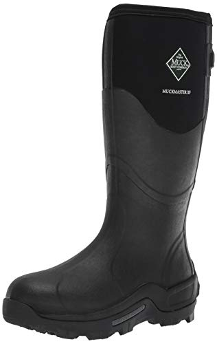 Muck Boot Men's Muckmaster Wide Calf Snow Boot, Black, 9 Medium Shaft US
