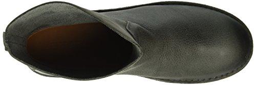 Shabbies Amsterdam Ladies 16cm Booty Stitchdown Flat 1 cm Matching Norfolk Sole Last Alissa, Zapatillas de Estar por Casa para Mujer Gris - Grau (Antracite)