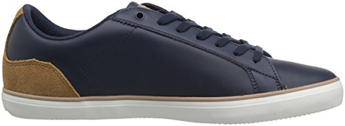 Lacoste Hombre Lerond Sneakers Nvy / Ltbrw Cuero