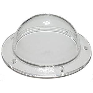 SupremeTech Acrylic Dome/Plastic Hemisphere – Clear