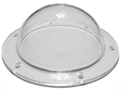 Supreme Tech Acrylic Dome/Plastic Hemisphere - Clear - 3