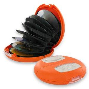 Discgear 2100-04R48 Discus Series 20-CD Case (Orange)
