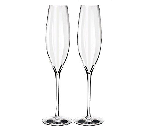 Waterford Elegance Optic Classic Champagne Flute Set