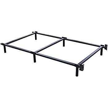 Amazon Com King S Brand Heavy Duty Metal Twin Size Bed